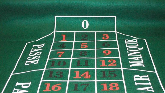 Afbeelding van Overige spelen Roulettekleed 180 x 90