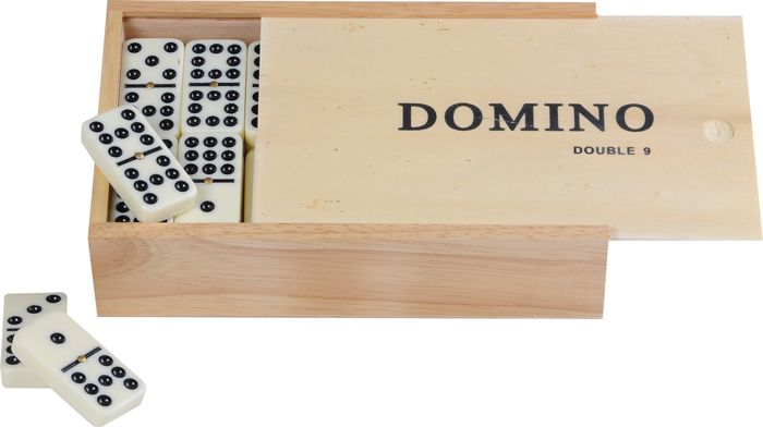 Afbeelding van Overige spelen Domino Dubbel 9 Dik