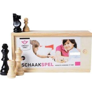 Longfield Chess Set in Box 77m