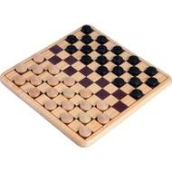overige spelen schaak/dam Dam Set 30cm