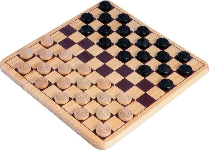 Afbeelding van overige spelen schaak/dam Dam Set 30cm