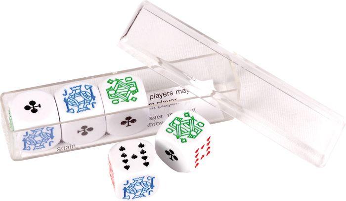 Afbeelding van overigespelendobbel 5 dobbelstenen 16mm in doosje