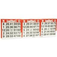 overgespelen bingo Bingo Kaarten 1500 vel