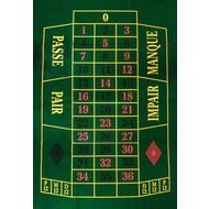 POKER Roulettekleed 130 x 90