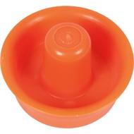 Pusher airhockey oranje 100mm.