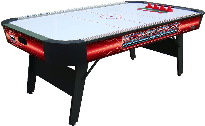 "Afbeelding van Airhockey Buffalo air hockey table ""Terminator II"" folding legs 7ft"