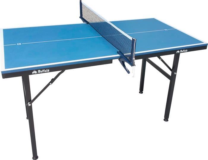 Afbeelding van Tafeltennis Tafeltennistafel Mini Buffalo Deluxe Blauw