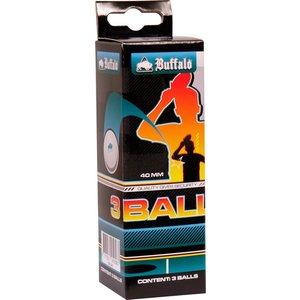 Tafeltennisballen Buffalo 1* set 3 stuks