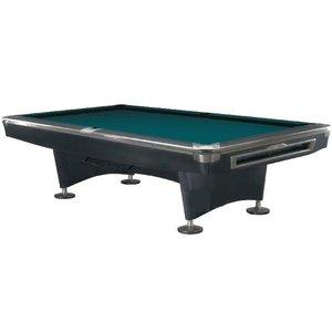 Poolbiljart Competition Pro Black/RVS 9 foot