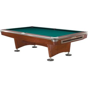 Pool billiards Competition Pro brown / stainless steel