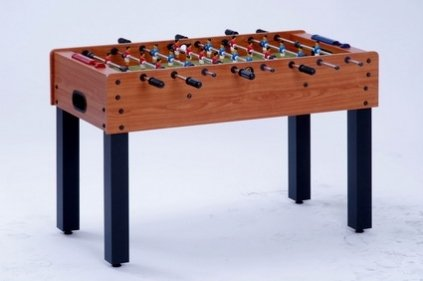Afbeelding van Garlando tafelvoetbal Tafelvoetbaltafel F-1. Cherry wood