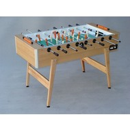 Tafelvoetbaltafel Soccer table Profi Deutscher Meister Oak