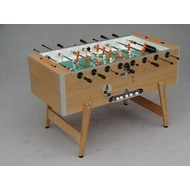 Tafelvoetbaltafel Deutsche Meister football table Grande Luxe oak