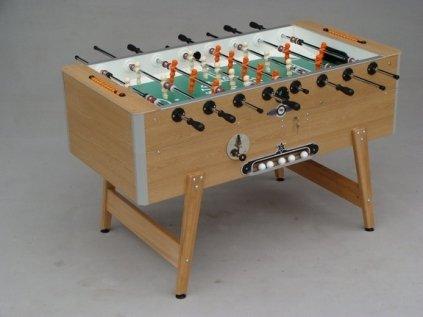 Afbeelding van Tafelvoetbaltafel Deutsche Meister voetbaltafel Grande Luxe eiken