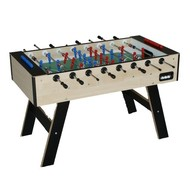 Tafelvoetbaltafel Deutsche meister soccer table Young Line naturel