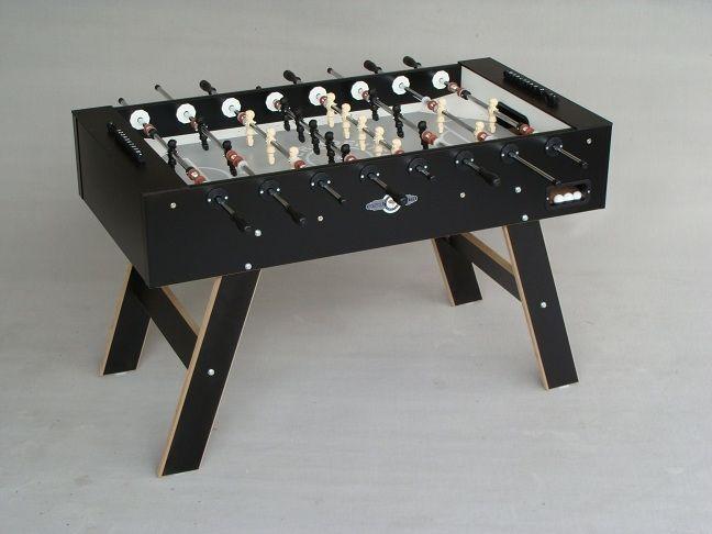Afbeelding van Deutscher Meister Deutsche meister voetbaltafel Young Line zwart
