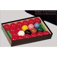 Aramith snooker ballen Snookerballen Super Crystalite ballen maat 52,4 mm