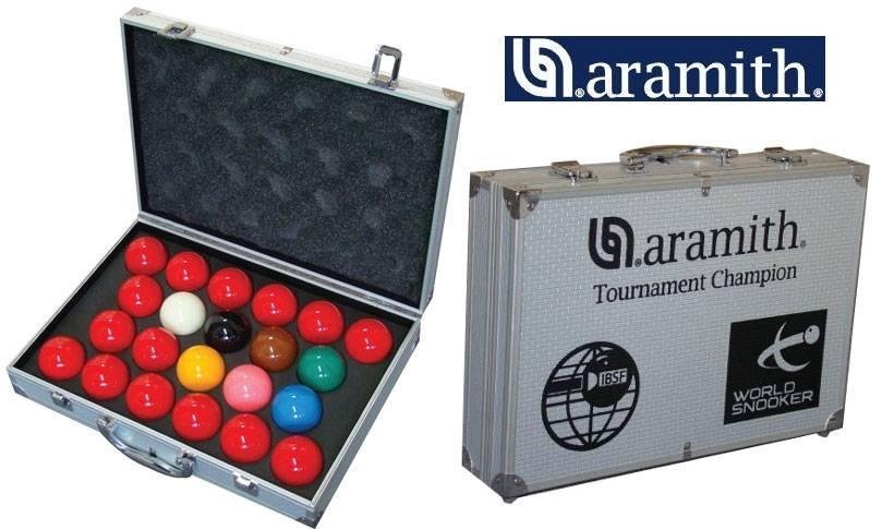 Afbeelding van Aramith snooker ballen Tournament snooker 52.4 mm Super Pro1G