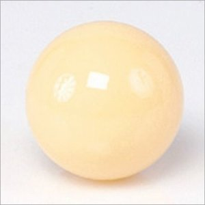 Witte bal standaard Aramith maat 57,2 mm