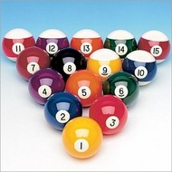 Aramith poolballen Single pole ball 1st quality Aramith. Size 57.2 mm. Our advice