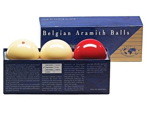 Afbeelding van Aramith carambole ballen Carambole ballen Super Aramith de Luxe.