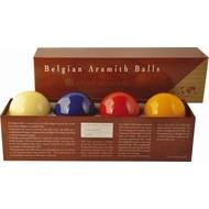 Aramith carambole ballen CaromSuper Aramith Tournament 61.5 mm. With extra blue ball