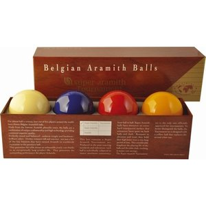 CaramSuper Aramith Tournament. Met extra blauwe bal