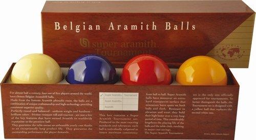 Afbeelding van Aramith carambole ballen CaramSuper Aramith Tournament. Met extra blauwe bal