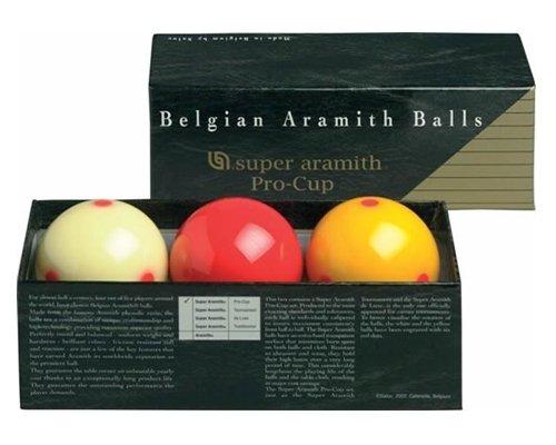Afbeelding van Aramith carambole ballen Carambole ballen Super Aramith Pro Cup