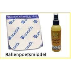 Billiard balls cleaners