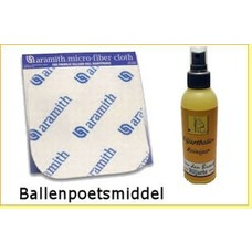 Billiard balls cleaning products