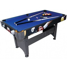 Hobby pool billiards (wooden playfield)