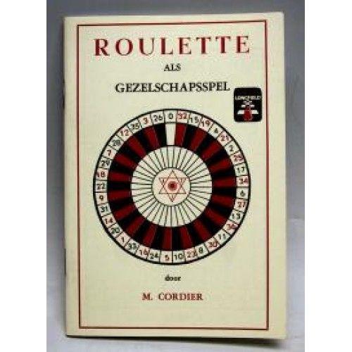 Afbeelding van POKER Roulette spelregelboekje nederands