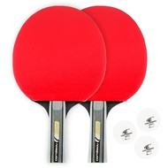 Tafeltennis Tafeltennis bat set Cornilleau Sport duo pak rood