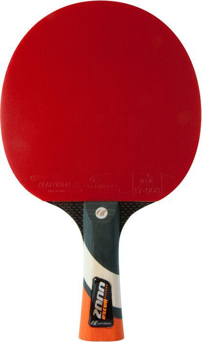 Afbeelding van Tafeltennis Tafeltennis bat Cornilleau Excell carbon 2000 rood
