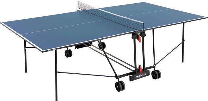 Afbeelding van Tafeltennis Tafeltennistafel Buffalo Basic Indoor blauw