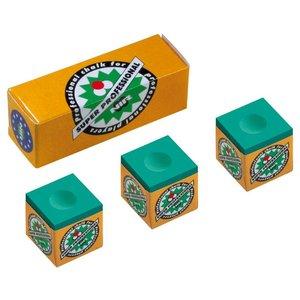NIR Super Professional box 3 chalks Green