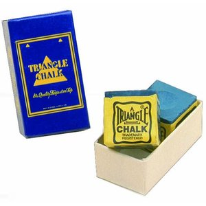 Triangel billiard chalk blue