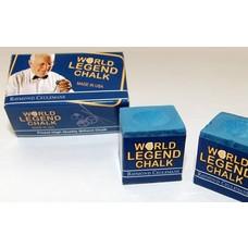 Krijt Ceulemans billiard chalk 2 pieces Blue