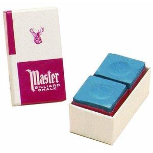 Master billiards chalk Blue 2 pieces