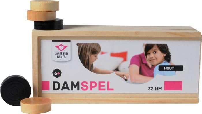 Afbeelding van LONGFIELD Damstenen 32mm in box Longfield