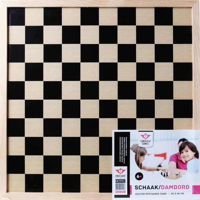 Afbeelding van LONGFIELD Dam en schaak bord Longfield