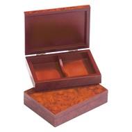 PHILOS Philos houten opberg box voor speelkaarten