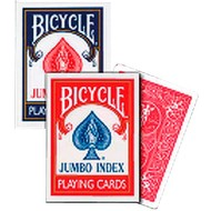 BICYCLE Poker kaarten Bycicle Jumbo
