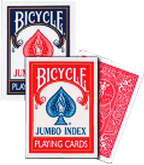 Afbeelding van BICYCLE Poker kaarten Bycicle Jumbo