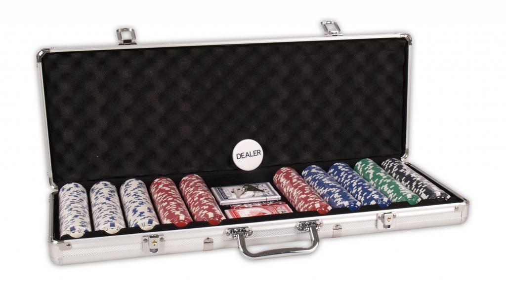 Afbeelding van BUFFALO Poker koffer aluminium 500 Chips