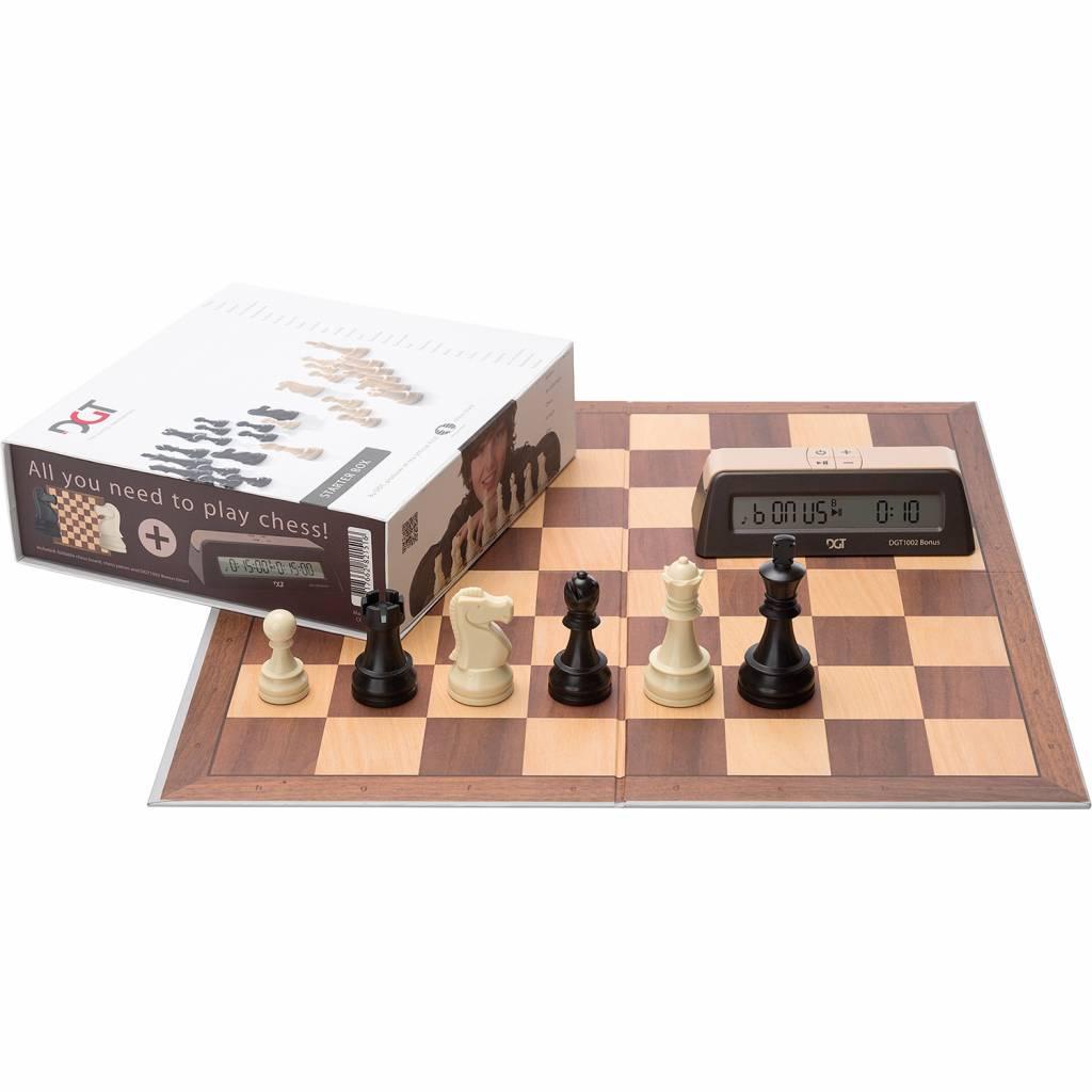 Afbeelding van DGT DGT schaak starterset bruin