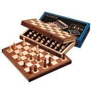 PHILOS Philos reis schaakset hout 30x15,5 cm