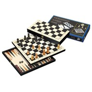 PHILOS Philos Backgammon 3 in 1 reis set 30mm