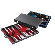 PHILOS Philos Backgammon rood medium 38x23,5cm